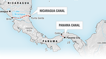 CANAL NICARAGUA / PANAMÁ