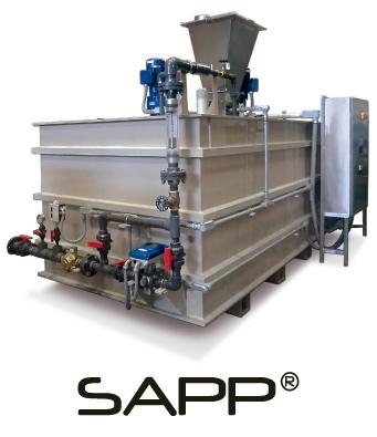 Sistema automático para preparación de polímero sólido SAPP®